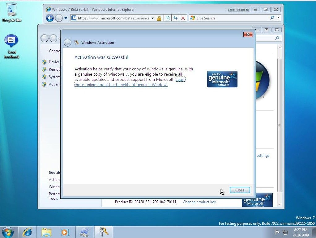 How to remove Windows activation key 7