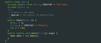 Intellij Idea тема - Obsidian